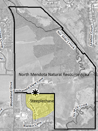 Map of the Natural Resource Center